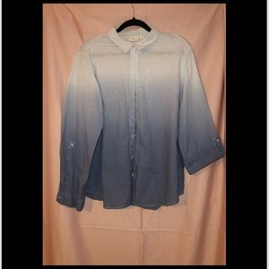 Button up Faded Shirt